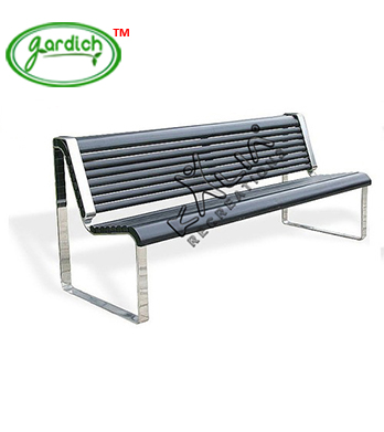 Stainless-Steel-Park-Bench