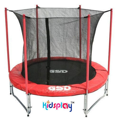 Trampoline-with-Safety-Net