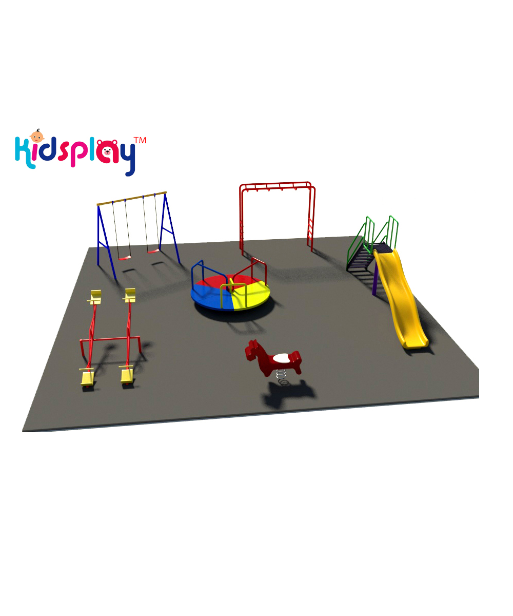 Economy Outdoor Kids Play Zone KP-KR-P101